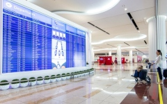 الصورة: مطارات دبي تطلق أول حل يرتكز   على السحابة لعرض معلومات الرحلات