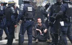 الصورة: احتجاج