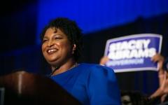 الصورة: ترشيح أول أميركية من أصل إفريقي لمنصب حاكم ولاية