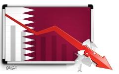 الصورة: تهاوي الاقتصاد القطري يعرّي «مكابرة الحمدين»