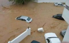 """الصورة: بالفيديو.. سقطرى محافظة منكوبة بسبب الإعصار """"ماكونو"""""""