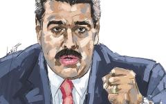 الصورة: مادورو لفترة رئاسية ثانية والقلق يضرب واشنطن