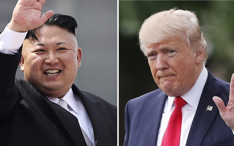 الصورة: ترامب يلغي القمة مع زعيم كوريا الشمالية