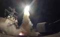 الصورة: هجوم صاروخي على مطار الضبعة بريف حمص