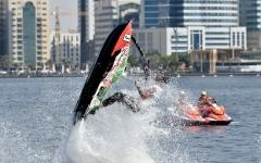 الصورة: فرق الإمارات جاهزة لمونديال  الدراجات المائية