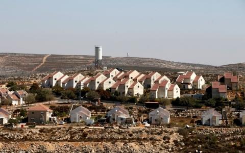 الصورة: خطط إسرائيلية لبناء 3900 وحدة استيطانية في الضفة
