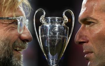الصورة: مدربا الريال وليفربول واثقان من نفسيهما قبل نهائي دوري أبطال أوروبا