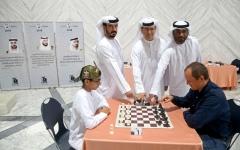 الصورة: عامر والدرمكي يتصدران بطولة الشطرنج