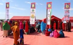 الصورة: «زايد الإنسانية» تعالج مئات الفقراء في هرجيشا الصومالية