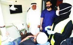الصورة: «صحة دبي» تحتفي بالعمال بمبادرة «سحورهم علينا»