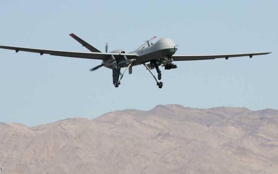 الصورة: إحباط محاولة هجوم إرهابي بطائرة بدون طيار باتجاه ابها