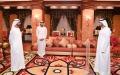 الصورة: أمام محمد بن راشد ..مكتوم بن محمد يؤدي اليمين كرئيس لجهاز الرقابة المالية في دبي