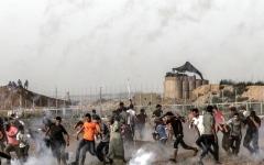الصورة: شهيد جديد في غزة برصاص الاحتلال