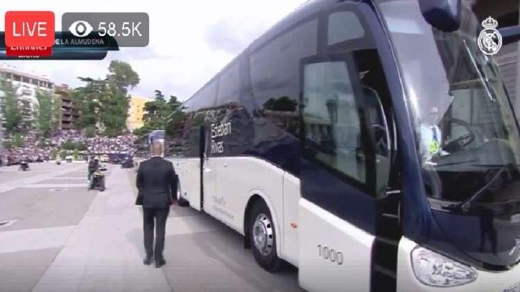 بالفيديو.. الريال يحتفل في معقله بلقب دوري أبطال أوروبا الـ 13