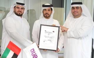 الصورة: «دبي للثقافة» تنال «الأيزو» في «نظام إدارة أمن المعلومات»