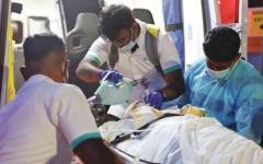 الصورة: «خليفة الإنسانية» تنقل 17 يمنياً للعلاج في مستشفيات الإمارات