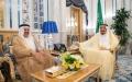 الصورة: خادم الحرمين الشريفين يستقبل أمين عام مجلس التعاون الخليجي