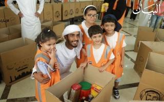 الصورة: الصورة: بشاير الحمادي تقود 500 جندي متطوع في جيش الأمل