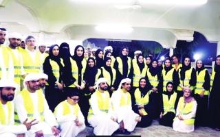 الصورة: مجلس شباب «تنمية المجتمع»  150 متطوعاً ينثرون الخير بين العمال