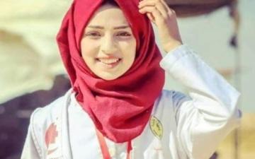 الصورة: رزان النجار شهيدة الإنسانية