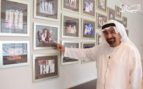 الصورة: ناصر النويس: القيادة والإلهام هما زايد