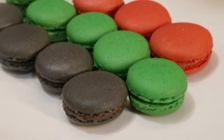 الصورة: حلوى الماكرون الفرنسية