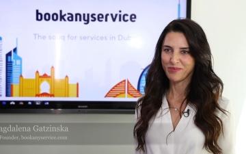الصورة: ماجدلينا جاتزينسكا: في الإمارات وجدت فرصتي للابتكار
