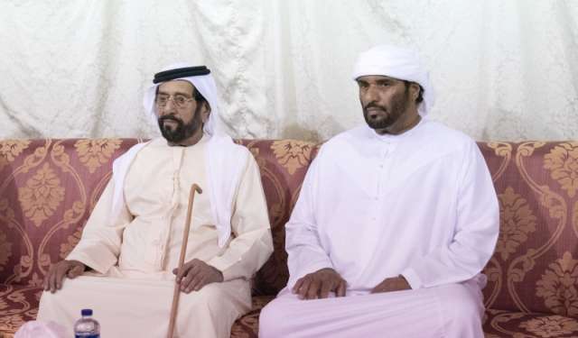 Tahnoun Bin Mohammed Yazzy Awad Al Shamsi In The Death Of His Mother