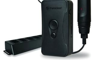 الصورة: كاميرا مراقبة محمولة جديدة من «ترانسيند»
