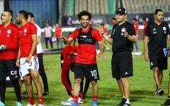 الصورة: المنتخب المصري واثق الخطوة يمضي نحو كأس العالم