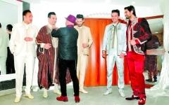 الصورة: المنتخب التونسي يبهر العالم  بالزي التقليدي