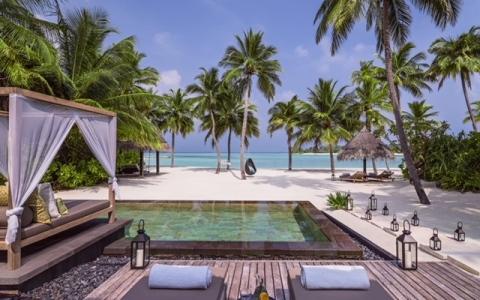 الصورة: عطلة عائلية مثالية في جزر المالديف