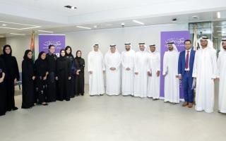 الصورة: «دبي للثقافة» تحتفي بفريقها المشارك في «الألعاب الحكومية»