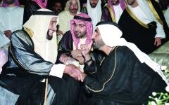 الصورة: رئيس الدولة يشهد أوبريت «فارس العرب»