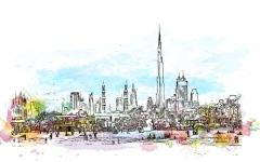 الصورة: المناطق الأكثر بيعاً للأراضي التجارية في دبي خلال 5 شهور