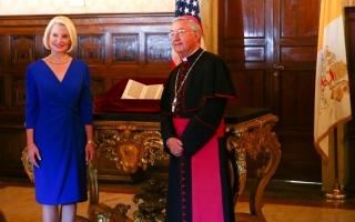 الصورة: أميركا تعيد خطاباً تاريخياً لكولومبوس إلى الفاتيكان