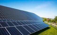 الصورة: «سوفت بنك» تستثمر حتى 100 مليار دولار في الطاقة الشمسية بالهند