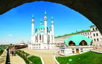 الصورة: مسجد كول شريف قبلة الجماهيرالعربية المونديالية