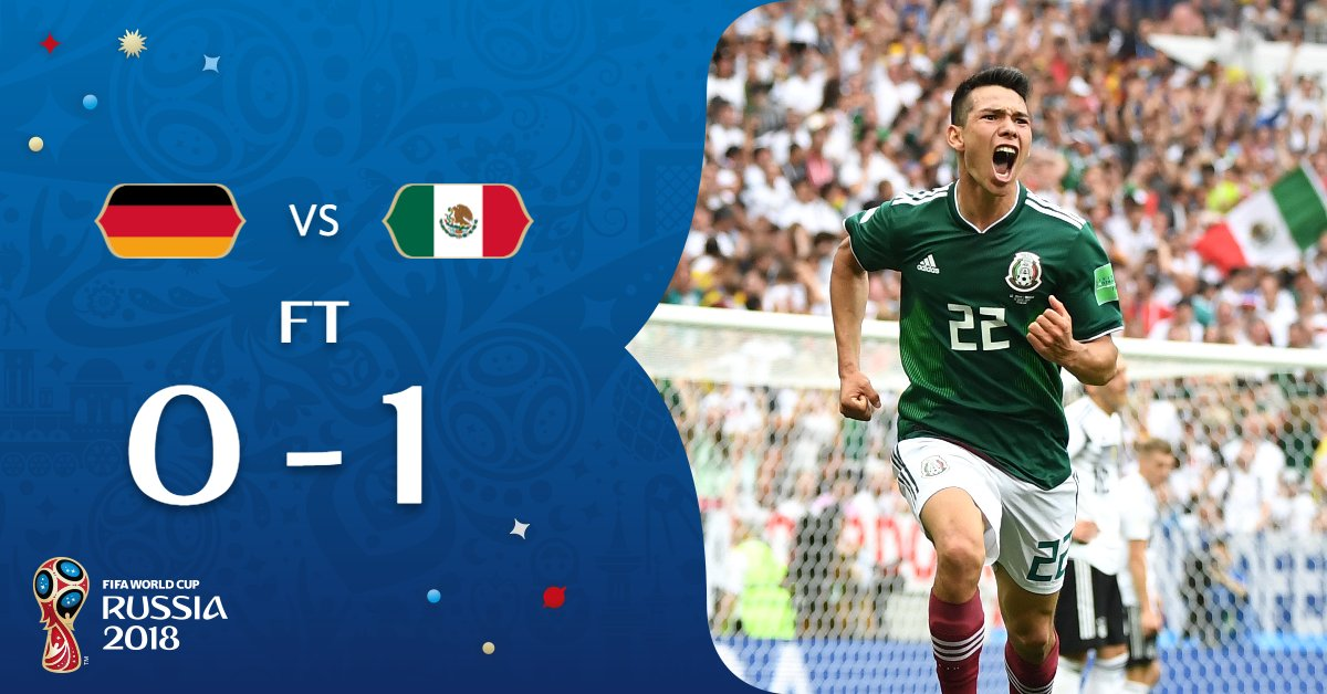 المكسيك يطيح بحامل اللقب