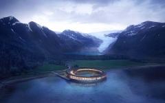 الصورة: أبنية مستقبلية صديقة للبيئة تنبض بطاقات إيجابية