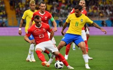 الصورة: البرازيل تبدأ مشوارها في كأس العالم بتعادل مع سويسرا