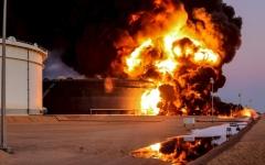 الصورة: هجوم ليبي كبير لطرد الإرهابيين من الهلال النفطي