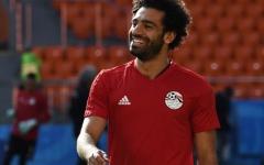 الصورة: صلاح يكشف حالته قبل مباراة روسيا