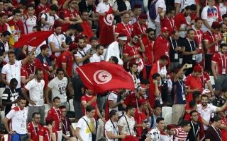 الصورة: الجماهير التونسية تنثر البهجة في روسيا