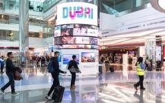 الصورة: مطار دبي يجذب سياح الترانزيت بتقنيات بصرية