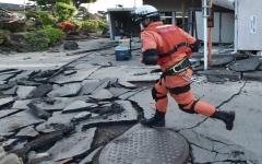 الصورة: ارتفاع عدد ضحايا زلزال أوساكا