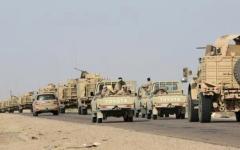 الصورة: التحالف العربي والقوات اليمنية تسيطران على أجزاء واسعة من مطار الحديدة