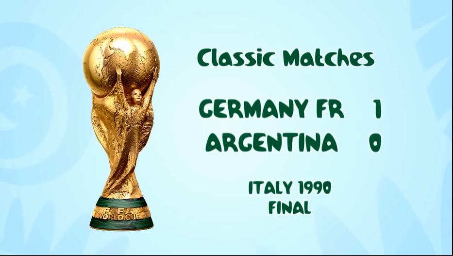 ألمانيا تنتقم من الأرجنتين وتتوّج بالكأس الثالثة