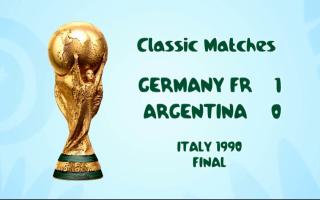 الصورة: ألمانيا تنتقم من الأرجنتين وتتوّج بالكأس الثالثة