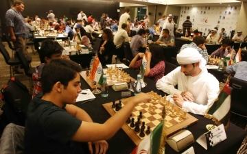 الصورة: مهرجان أبوظبي الدولي للشطرنج 6 أغسطس